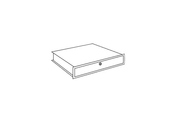 Lips Brandkasten afsluitbare lade voor modellen DPC 160,240, 320, 400T