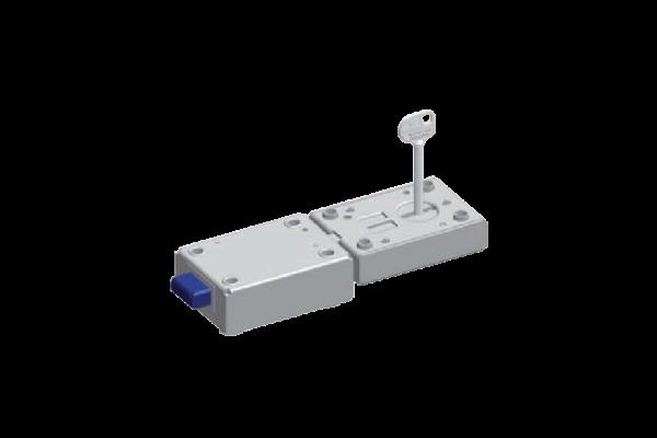 Ombouw naar bediening via kaartlezer / keytag / vingerafdruklezer