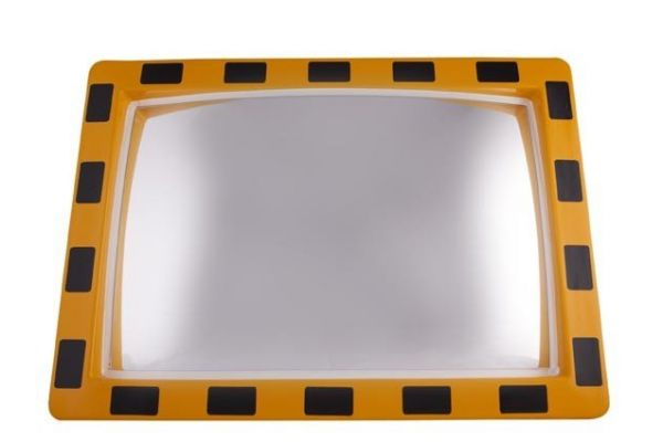 Industriële spiegel rechthoekig 600 x 800 mm
