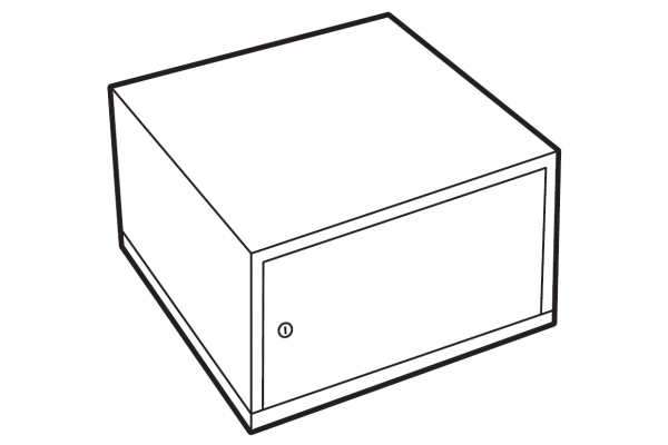 Chubbsafes lockable compartment size 110-300 - Free Delivery | SafesStore.co.uk