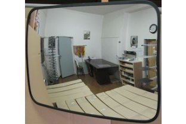Convex binnenspiegel rechthoekig 400x 600 mm