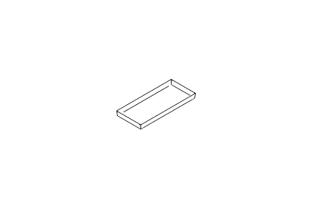 Asecos opvang legbord voor type 120 kast