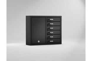 Creone Keybox 9006E RVS uitbreidingskast sleutelbeheer | KluisStore.nl