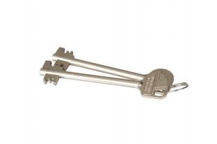 Dubbelbaard sleutel - lang KS