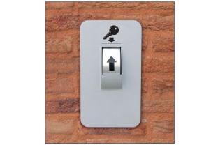 Keysecuritybox KSB 007 afstortkluis voor sleutels (door de muur)