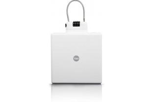 Yale Draagbare reiskluis (wit) Mobiele kofferkluis | KluisStore.nl