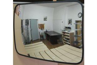 Convex binnenspiegel rechthoekig 600 x 800 mm kopen? | SecurityWebshop.com