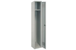Garderobekast DRL-G 410W - 1 kolom, 1 locker • SecrutiyWebshop.com