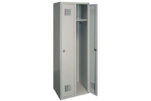 Garderobekast Sum 420 W- 2 kolommen, 2 hoge lockers, extra breed | KluisStore.nl