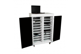 Laptop Trolley WNL 210S voor 20 laptops-tablets