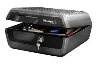 Masterlock LCFW30100 brand- en waterwerende box (1 uur) • SecrutiyWebshop.com