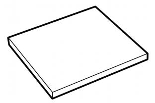Extra legbord De Raat DRS-Pro model 62-120 Interieur