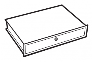 Chubbsafes lockable drawer size 1-4 - Free Delivery