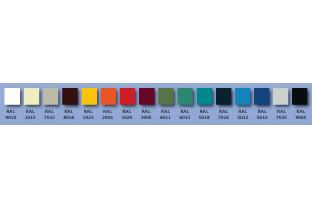 RAL kleur DRS lockers