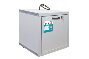 SafetyFirst brandwerende veiligheidskast voor lithium-ion accu's - S (onderbouw)