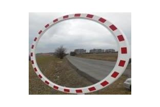 Industriële spiegel rond 900 mm
