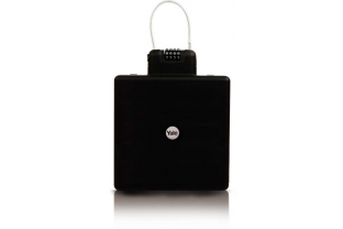 Yale Draagbare reiskluis (zwart) Mobiele kofferkluis