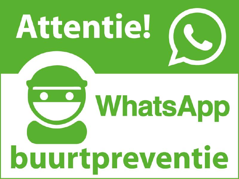 Whattsapp-buurtpreventie