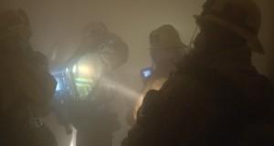 Ruimte vol rook