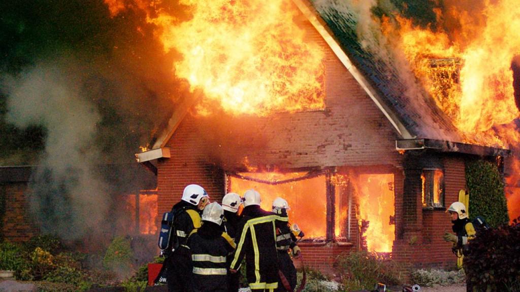 Uitslaande woningbrand